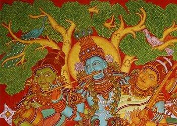 Mural Paintings, Shopping, Kerala Tourism, India